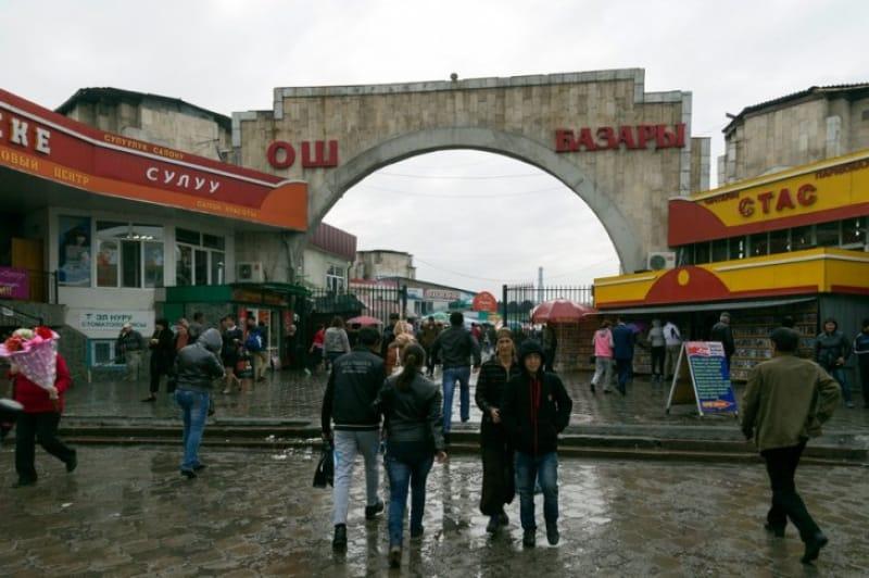 活気あふれるビシュケク市民の台所「バザール」