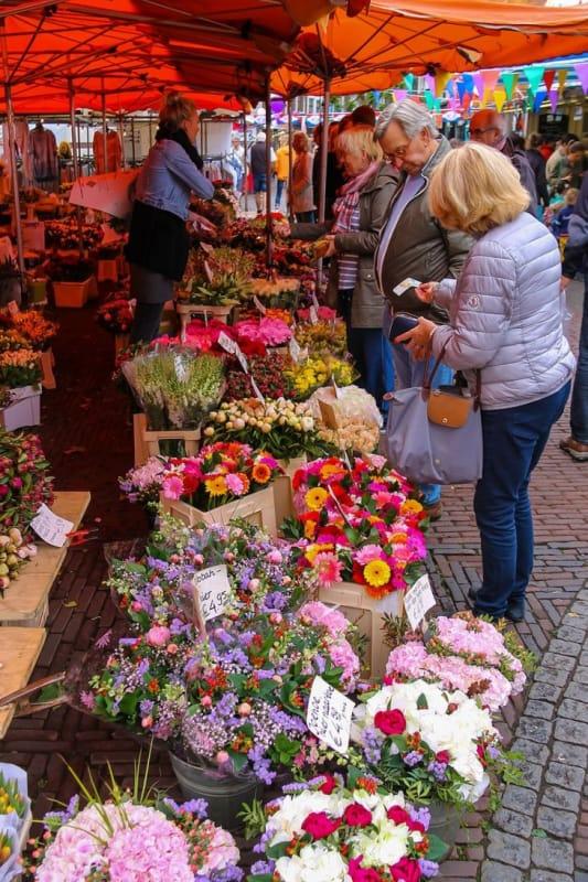 オランダは花市が盛んな国