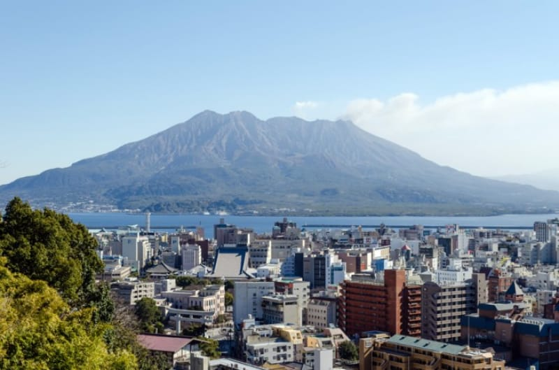 「屋久島」と「桜島」は代表的スポット