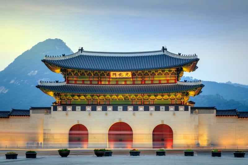 韓国の美しい歴史的建造物
