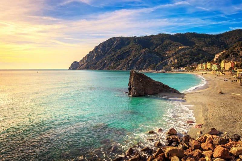 大きなビーチが自慢・モンテロッソ・アル・マーレ