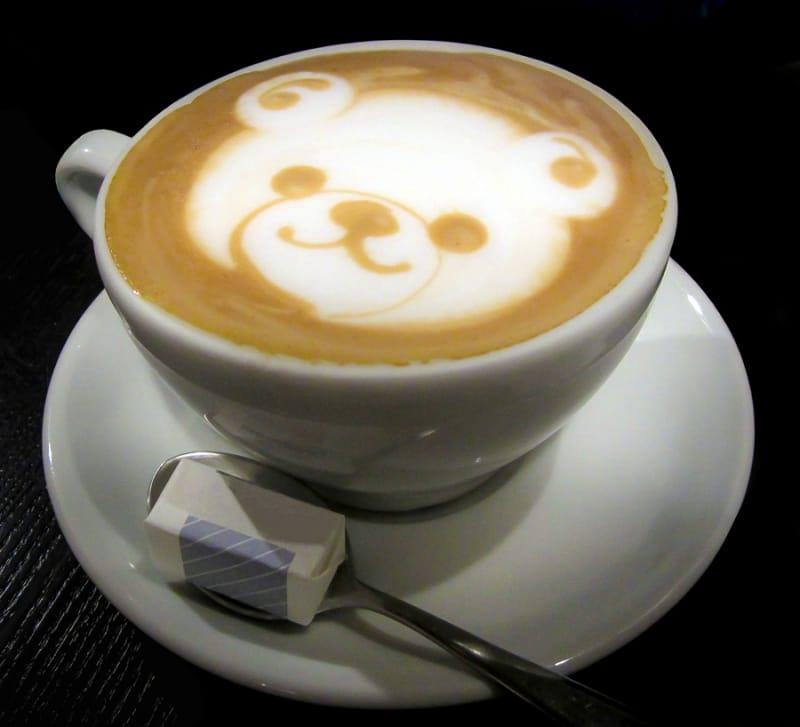 かわいいカフェで一休みできる
