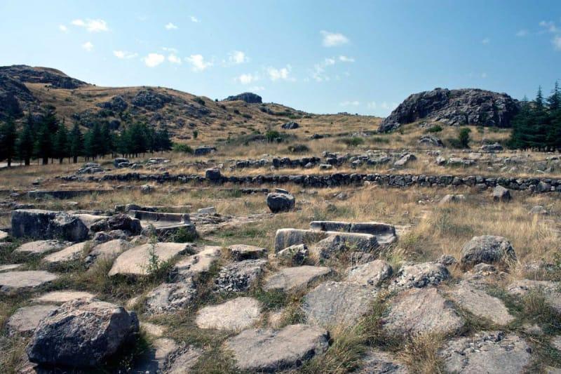城壁に囲まれていた都ハットゥシャ