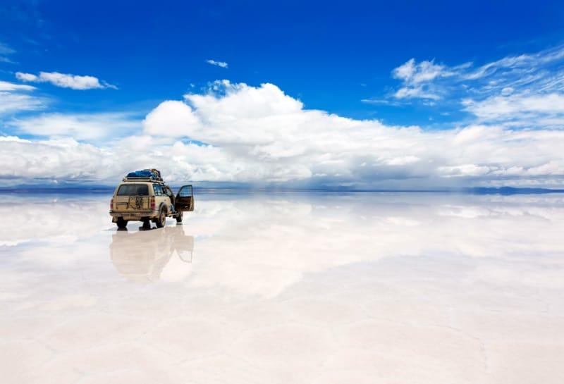 ウユニ塩湖の注意点1
