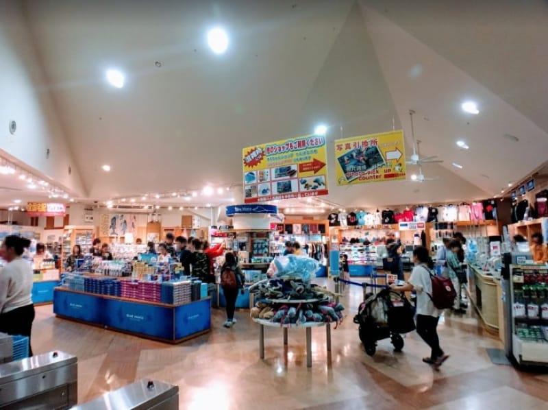 """103216:3-15.""""ブルーマンタ""""で沖縄美ら海水族館のお土産を購入!"""