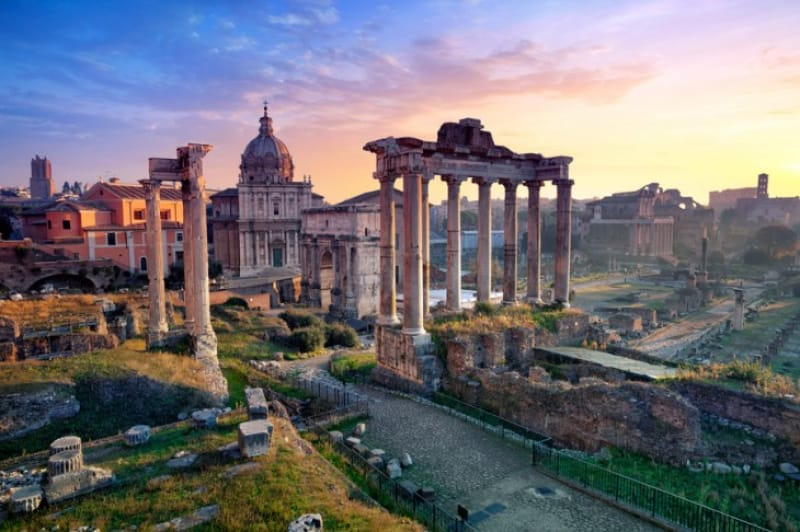 1日目:古代ローマ遺跡を攻略