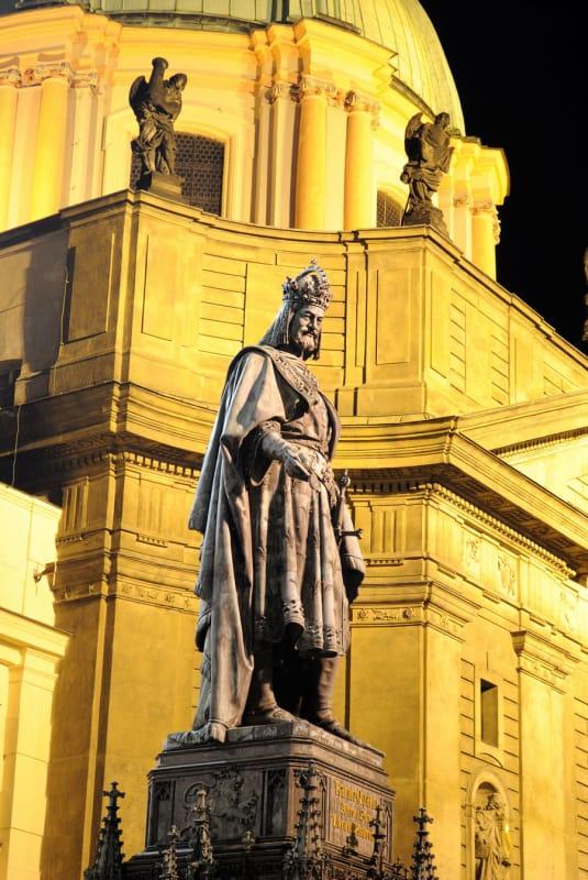 カレル四世(カール四世)の誕生