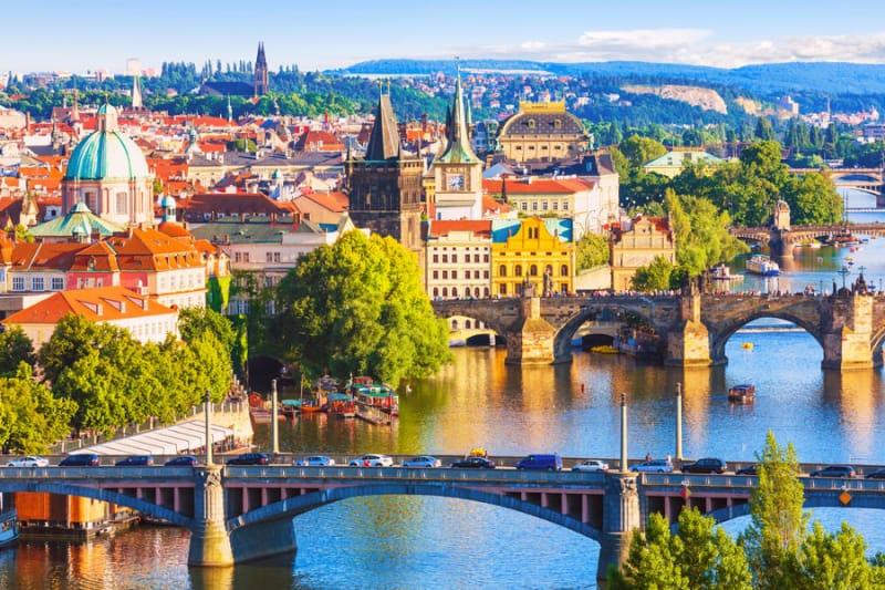 様々な民族が出入りしたチェコの首都プラハの起源