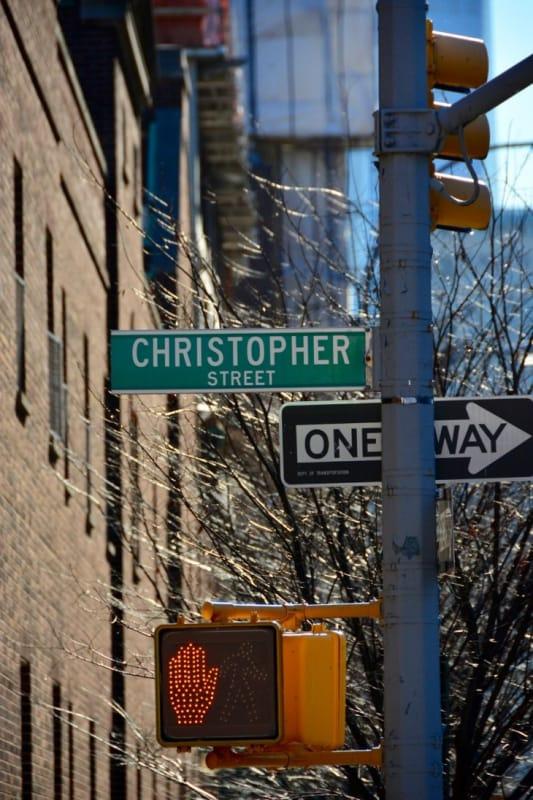 ニューヨークカルチャーをクリストファーストリートで感じる