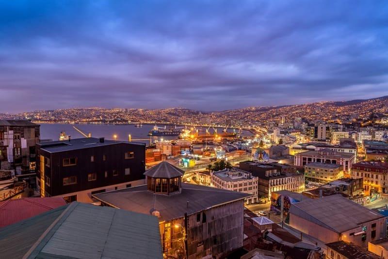 風光明媚なチリ第2の都市