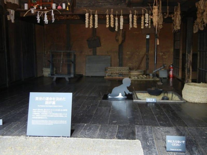 英世の功績を振り返る生家・記念館