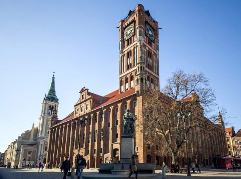 スウェーデン軍の犠牲となった旧市庁舎