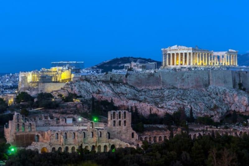 アクロポリスの夕暮れ