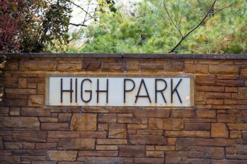 ハイパークへのアクセスはとても便利