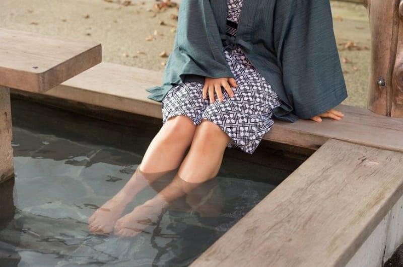 「美肌の湯」が巡礼者に大人気!