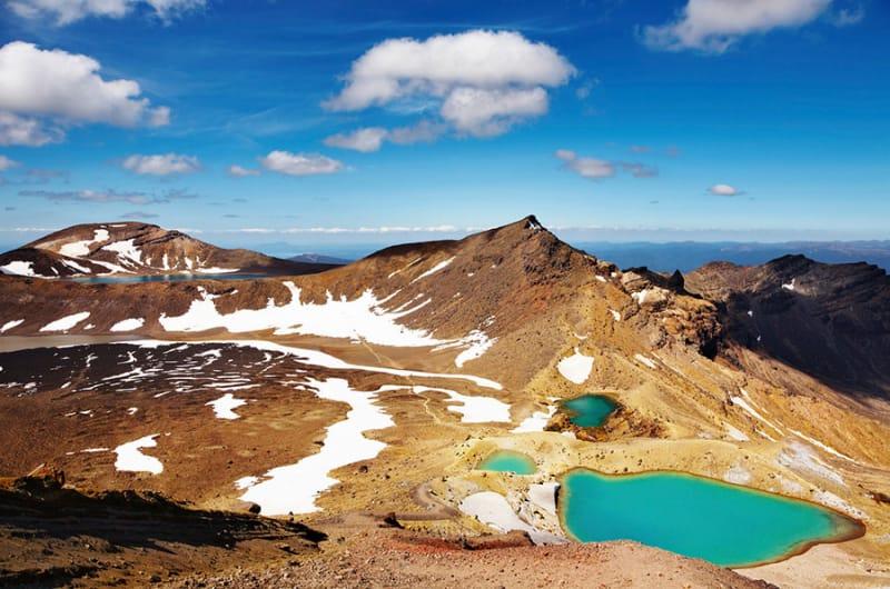 総合遺産に登録されたニュージーランドの絶景スポット、トンガリロ国立公園とは