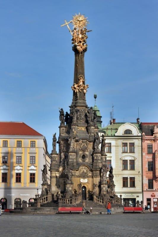 世界遺産登録されている聖三位一体柱