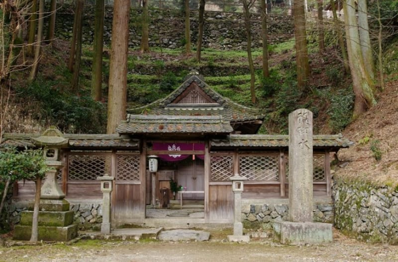 (1)醍醐寺発祥の地「醍醐水」