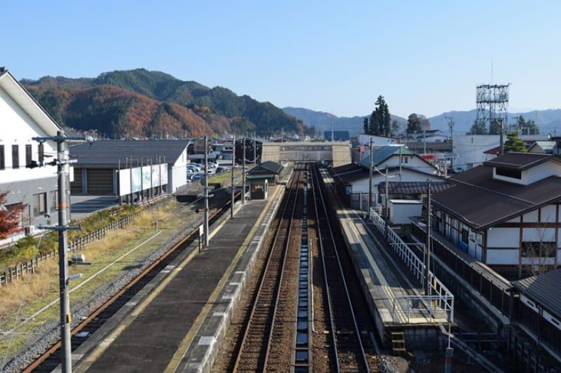 駅風景モデルのひとつ「飛騨古川駅」