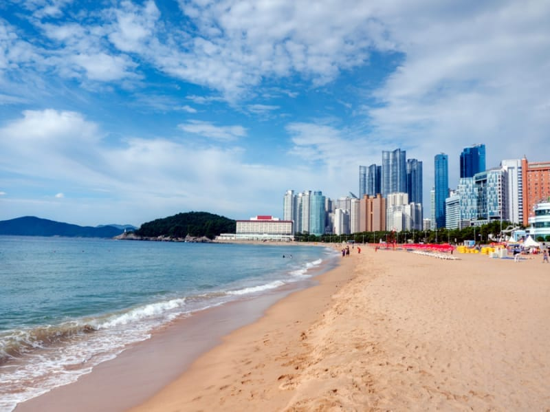 韓国有数のビーチリゾート