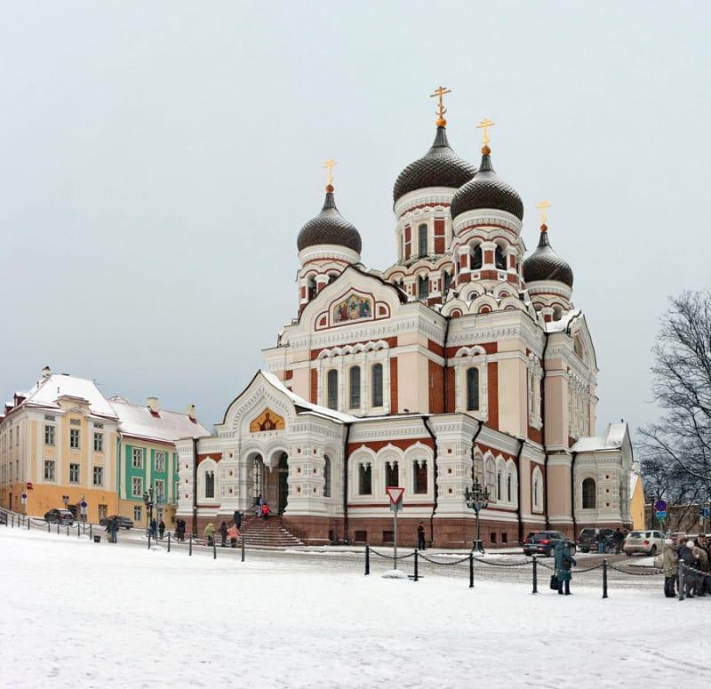 タリン最大のアレクサンドル・ネフスキー聖堂