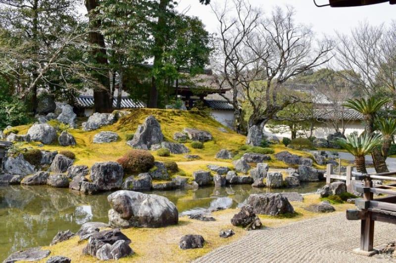 (6)秀吉の醍醐の花見が開かれた「三宝院」