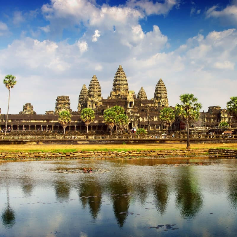 ワット アンコール 世界遺産アンコールワットとカンボジア史