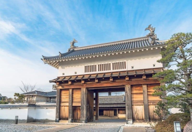 掛川城、開城