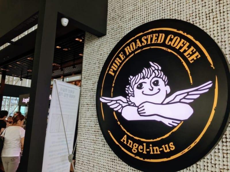 102055:17-2.かわいい天使が目印「Angel-in-us Coffee」