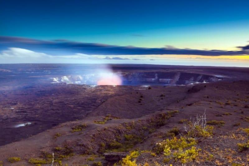 大地が生まれる場所・ハワイ火山国立公園