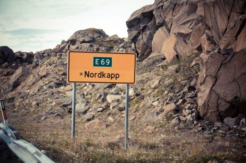 ヨーロッパ最北の岬、ノールカップ