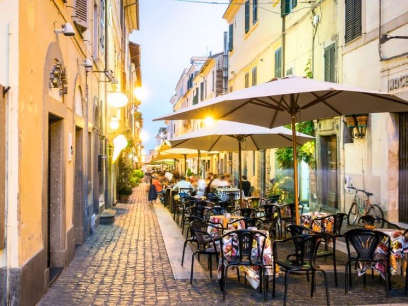 ローマのレストラン、基礎知識を覚えて置こう
