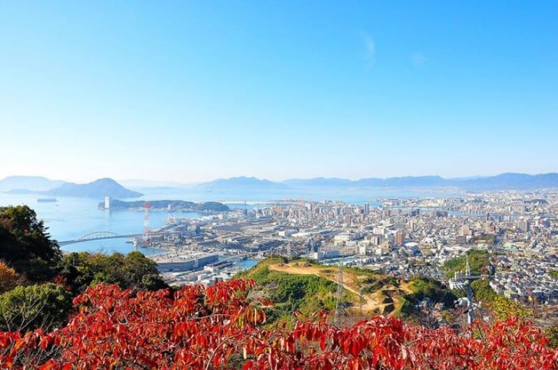 広島随一の夜景スポット・黄金山