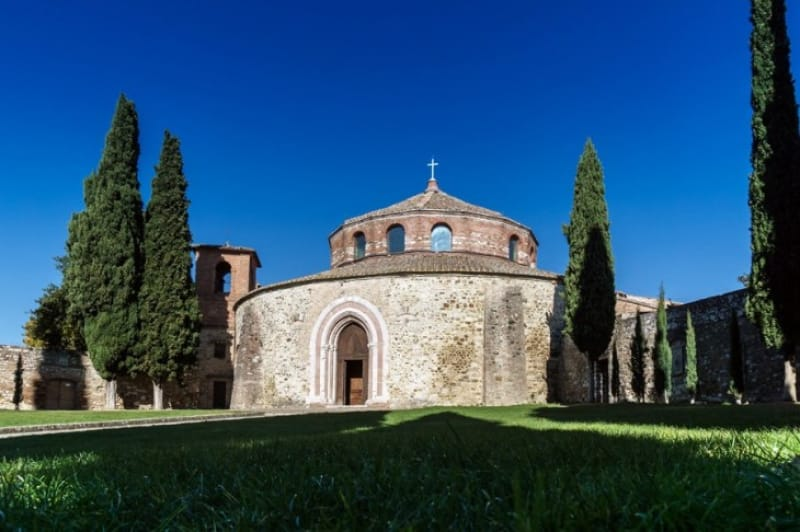 イタリア最古の教会「サンタンジェロ教会」