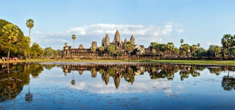 カンボジアを象徴する遺跡、アンコール・ワット