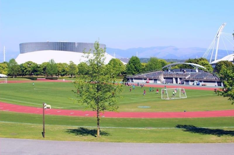 スポーツの秋にもぴったり・熊本県民総合運動公園