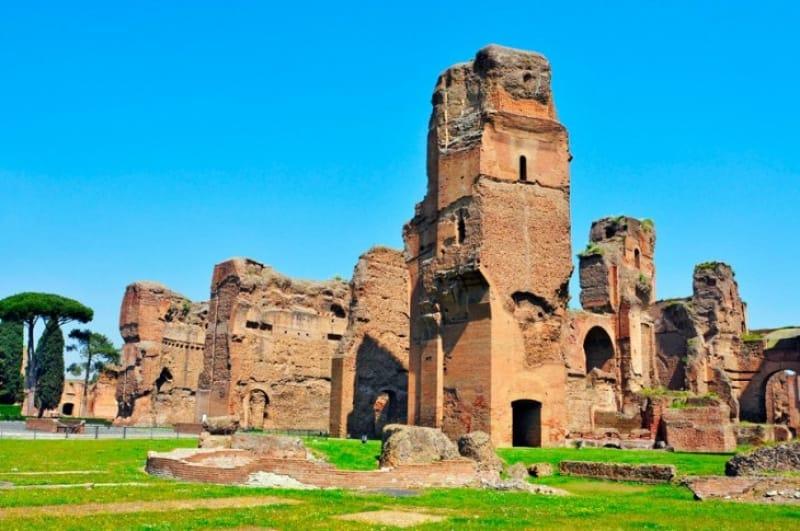 古代ローマの巨大浴場、カラカラ浴場