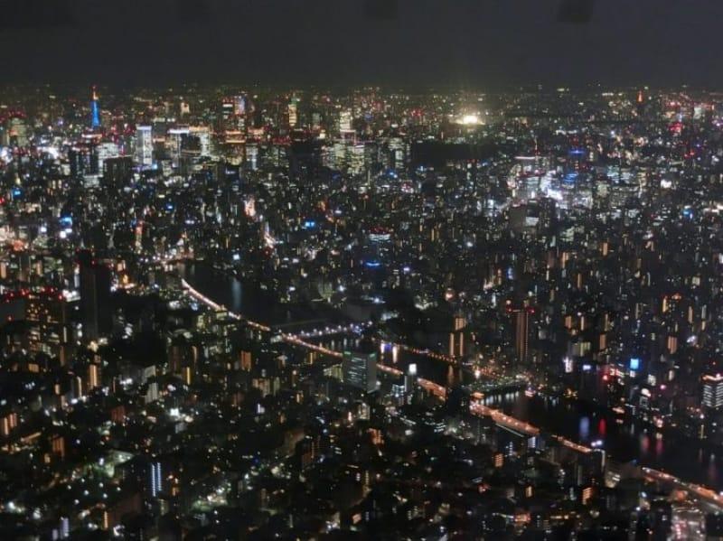 97464:いよいよ絶景の夜景をゆったり見ます♪