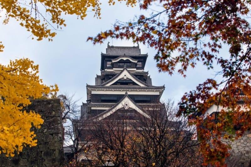 日本三名城のひとつ・熊本城