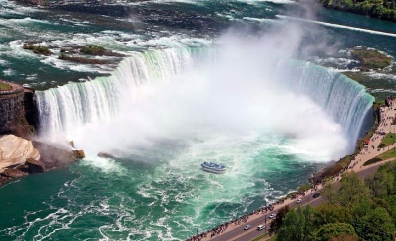 その2 壮大なナイアガラの滝の絶景