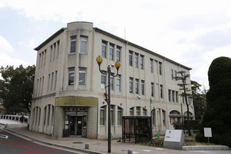 地区で唯一残った戦前の建築物「平和記念公園レストハウス」