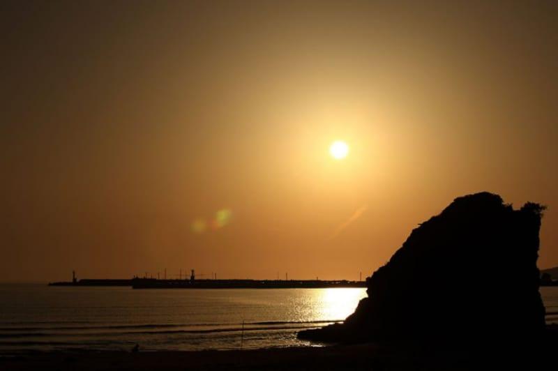91080:稲佐の浜/島根県