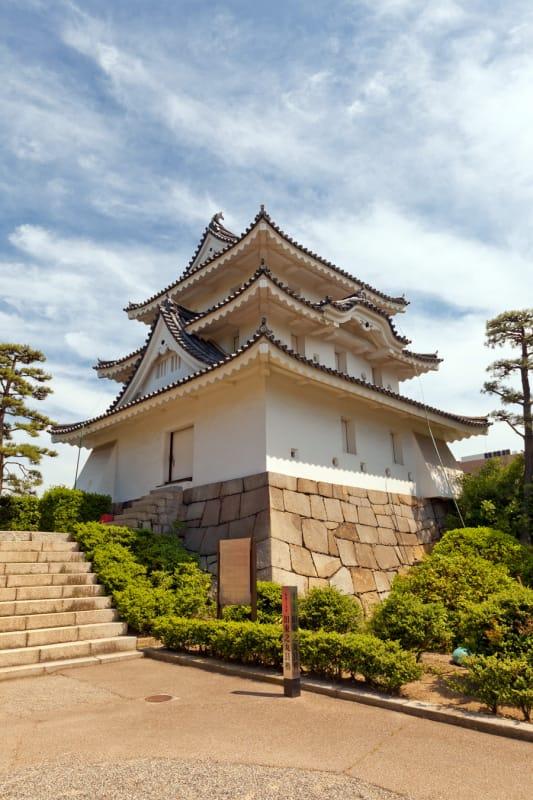 高松城の繁栄が残る・玉藻公園