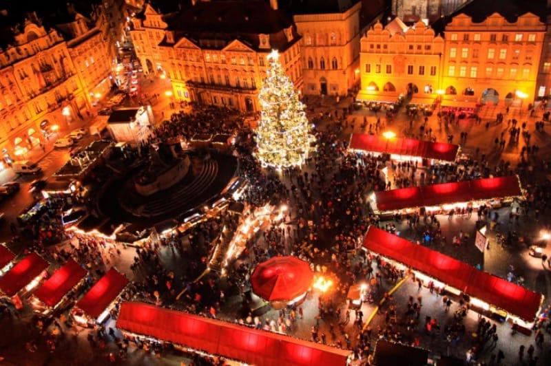 世界で最も美しい「プラハのクリスマスマーケット」