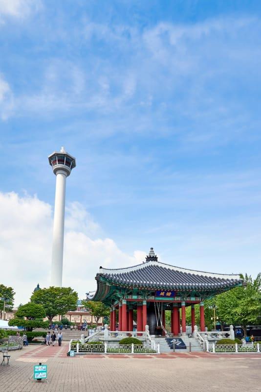 釜山のランドマークタワー