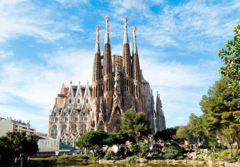 バルセロナといえばサグラダ・ファミリア