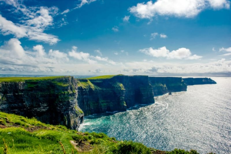 ヨーロッパ最高クラスの断崖絶壁「モハー断崖」