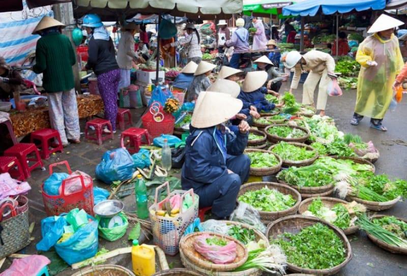 市民の台所、ホイアン市場