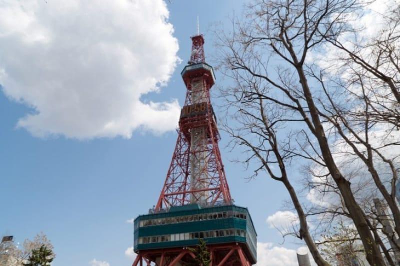先ずはシンボルの「テレビ塔」