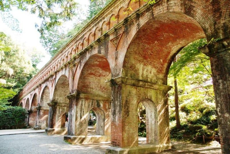 南禅寺と言えば水道橋(水路閣)